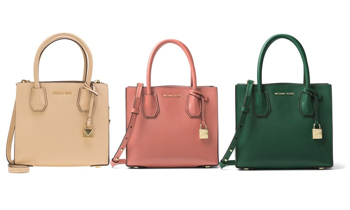 c4c0d39e3e98af Up To 39% Off Michael Kors Mercer Bag | Groupon