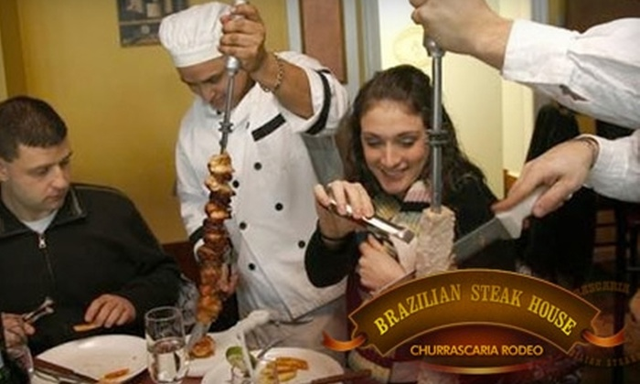 Churrascaria Rodeo - Woburn: $15 for $30 Worth of Brazilian Steakhouse Fare at Churrascaria Rodeo in Woburn