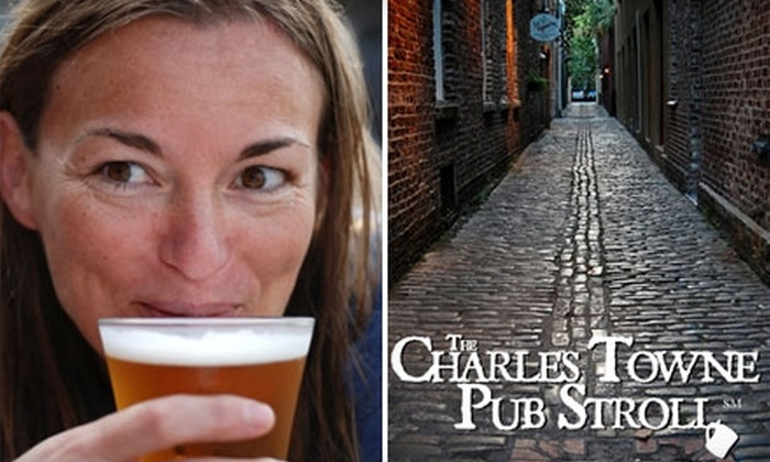 Charles Towne Pub Stroll - French Quarter: $6 Tour of Historical Charleston Pubs with Charles Towne Pub Stroll (Up to $15 Value)