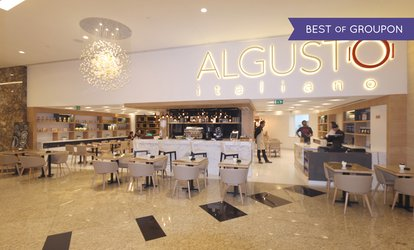 Up to 400 AED for Dine-In or Takeaway at Al Gusto Italiano Restaurant, Etihad Towers (Up to 52% Off)