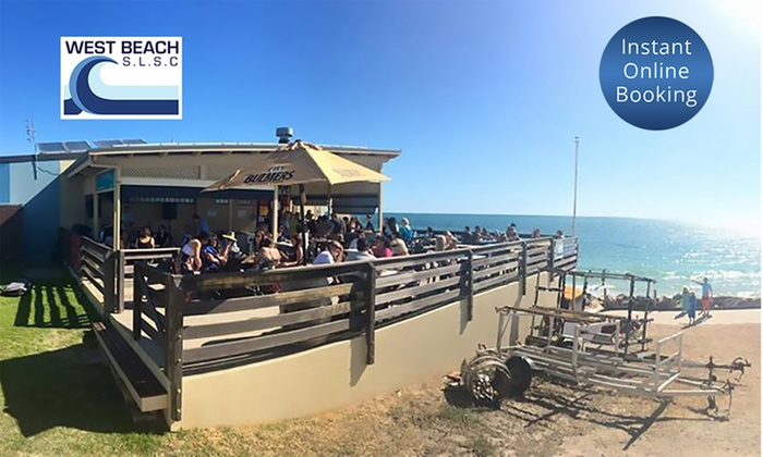 West Beach Surf Life Saving Club West Beach Seafood Platter With Bottle Of Wine