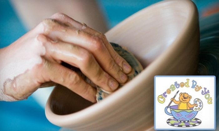 Created By You - New Dorp: $10 for $20 Worth of Studio Time and Paintable Pottery at Created by You in Staten Island