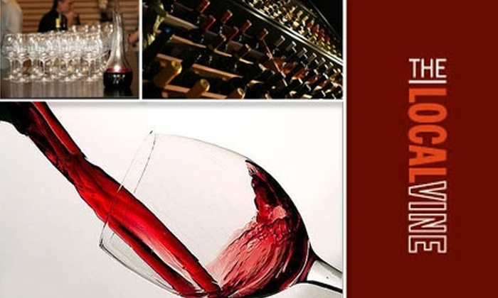 The Local Vine - Belltown: Up to 57% Off Wine Tastings at The Local Vine. Buy Here for $30 Ticket to Rock the Score Wine Tasting ($60 Value). See Below for Additional Tastings.
