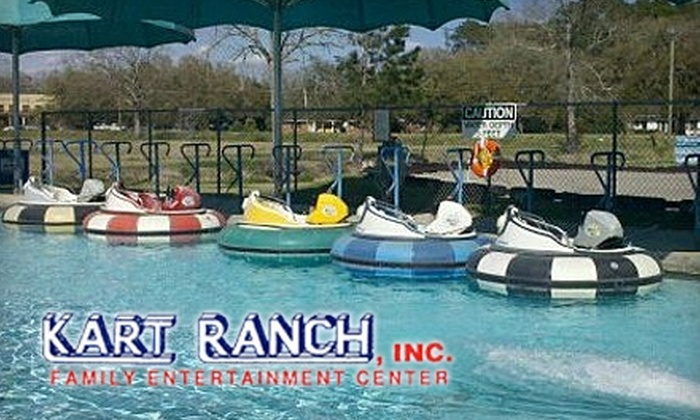 Kart Ranch Family Entertainment Center  - Youngsville: $30 for an Activity Package at Kart Ranch Family Entertainment Center in Lafayette ($64.99 Value)