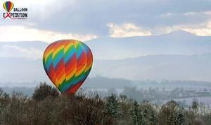 Balloon Expedition: Godzinny lot balonem z wykorzystaniem specjalnych foteli lotniczych dla 2 osób za 2799 zł w Balloon Expedition – 5 miast