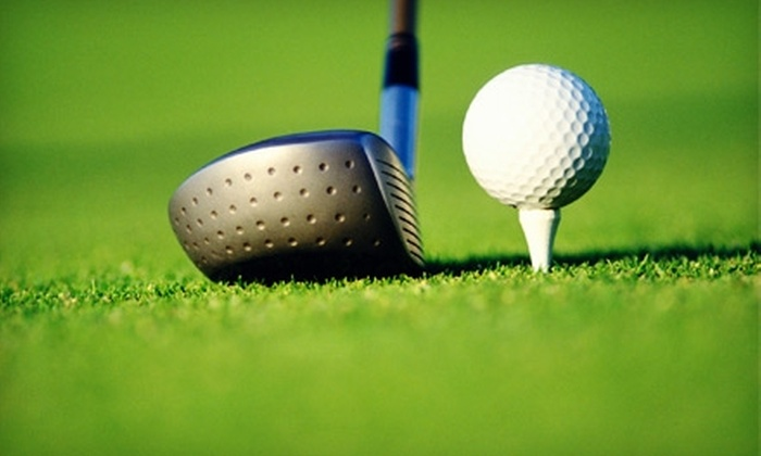 Golf U at 242 - Conroe: $25 for One Month of Unlimited Golf Balls and Practice-Range Admission at Golf U at 242 in Conroe ($50 Value)