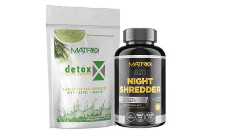 Detox shakes en voedingssupplementen van Matrix Nutrition