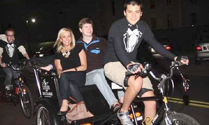 EasyRider Cabs, LLC - Tuscaloosa: Pedicab Ride or Tour from EasyRider Cabs, LLC in Tuscaloosa