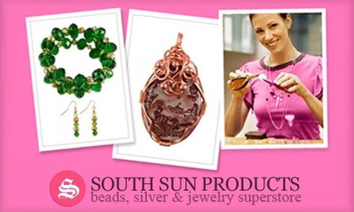 South Sun Products - Multiple Locations: $8 for a Beading Class Plus $10 Toward Supplies at South Sun Products ($35 Value)