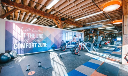 Two-Week Gym Membership with Unlimited Zone 4 Classes for One or Two at Onelife Fitness (Up to 67% Off)
