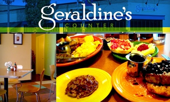 Geraldine's Counter - Seattle: $10 for $20 Worth of an American Comfort Dinner Fare at Geraldine's Counter
