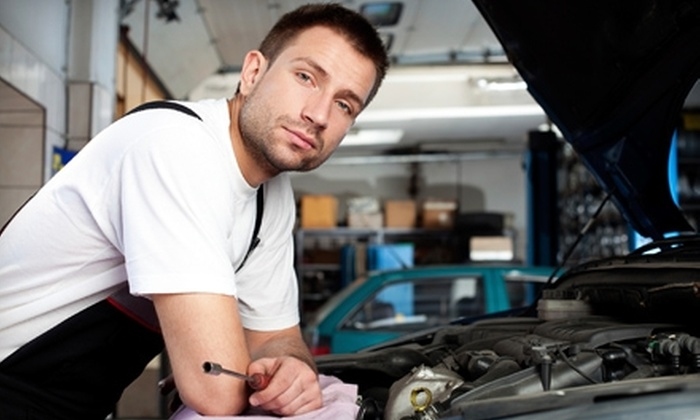 Wiygul Automotive Clinic or Automotive/GoodYear - Multiple Locations: Oil Change with 19-Point Check, Tire Rotation, and Brake Inspection from Wiygul Automotive Clinic or Automotive/GoodYear. Choose Standard or Synthetic Oil.