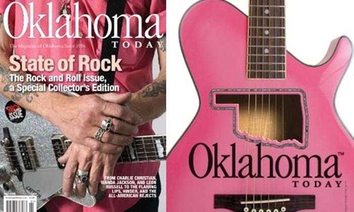 """Oklahoma Today Magazine - Oklahoma City: $12 for a Two-Year Subscription to """"Oklahoma Today"""" Magazine (Up to $34.95 Value)"""