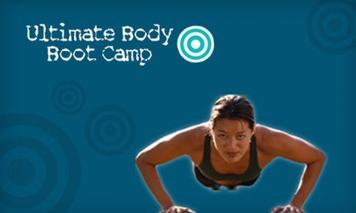 Ultimate Body Boot Camp - Multiple Locations: $29 for Four Weeks of Boot-Camp Sessions, Six Months of Member's-Only Access Online, and a 30-Day Nutrition Program from Ultimate Body Boot Camp ($407.94 Value)