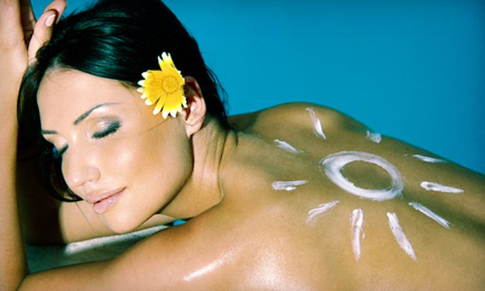 Melusina Custom Airbrush Tanning - Friendswood: One, Two, or Three Spray Tans at Melusina Custom Airbush Tanning in Friendswood (Up to 67% Off)