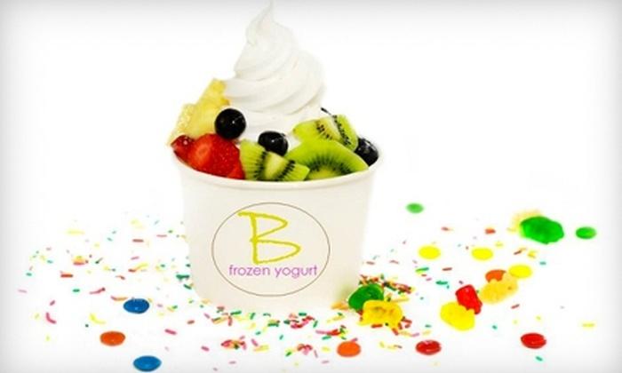B Frozen Yogurt - Downtown Mount Dora: $5 for $10 Worth of Create-Your-Own Frozen Yogurt at B Frozen Yogurt in Mount Dora
