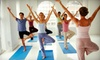 The Yoga Room - The Commons: Five Classes or One Month of Classes at The Yoga Room in Round Rock (Up to 59% Off)