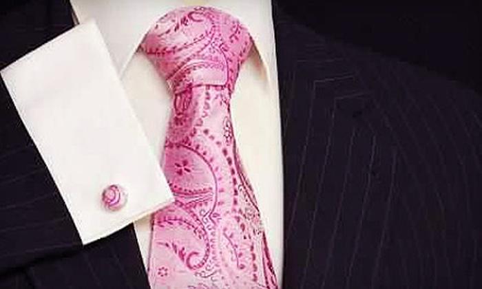 R. J. Reese Custom Clothier - Gary: $399 for Two Custom Suits and Two Custom Shirts from R. J. Reese Custom Clothier ($1,310 Value)