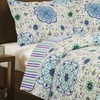 Vera Ashley Premium Collection 3-Piece Printed Quilt Set