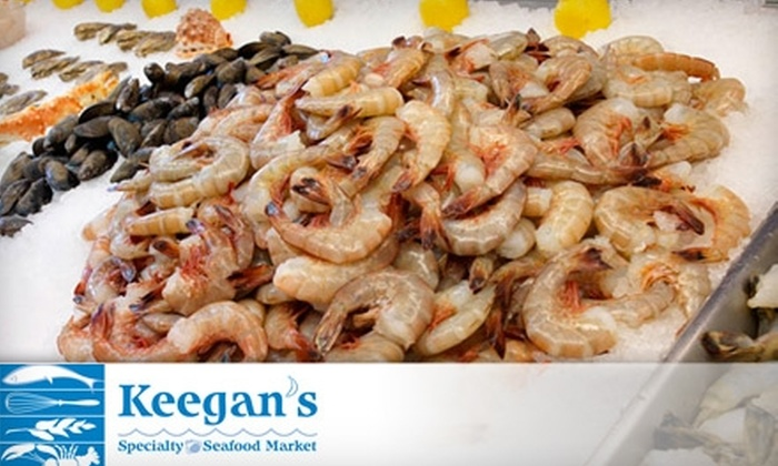 Keegan's Seafood - Anderson: $15 for $30 Worth of Fresh Seafood at Keegan's Specialty Seafood Market