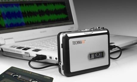 Conversor cintas cassette a MP3 Technaxx
