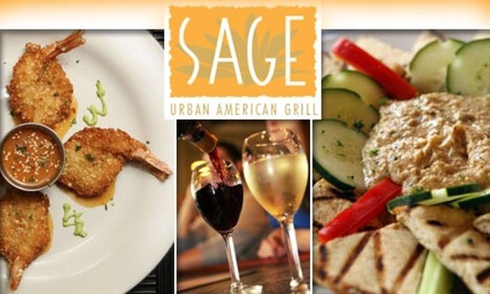Sage Urban American Grill - Soulard: $30 Worth of Classic Cuisine at Sage Urban American Grill