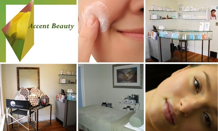 Accent Beauty - Golden Triangle: $30 for $65 Worth of Skincare Treatments at Accent Beauty
