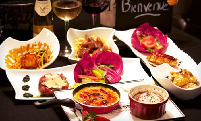Bistro 1902 - Parkside: $99 for Seven-Course French Dinner for Two with Wine Pairings at Bistro 1902 in Hollywood (Up to $240 Value)