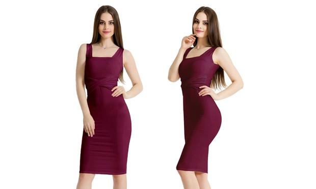 Bodycon Midi Dress: One ($19) or Two ($29)