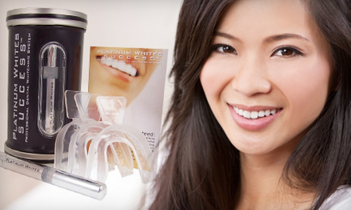 Platinum Whites: $29 for a Home Teeth-Whitening Kit from Platinum Whites ($169.99 Value)