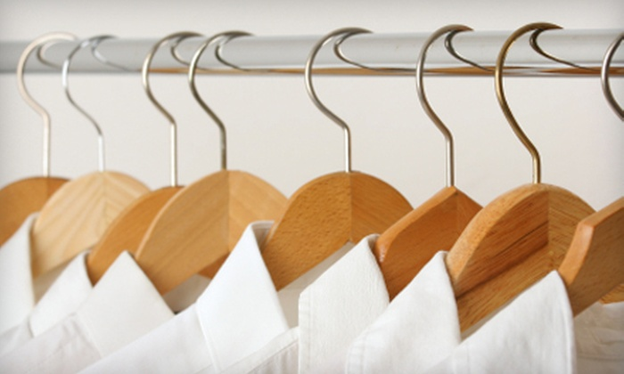 Professional Dry Cleaners - Vanier: Dry-Cleaning Services or Wedding-Dress Cleaning from Professional Dry Cleaners. Three Options Available.