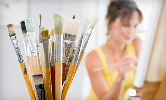 Art a la Carte - Vinings: Three-Hour BYOB Art Class for One or Two at Art a la Carte in Smyrna (Up to 57% Off)