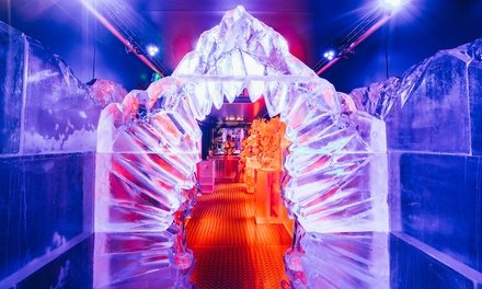 Ice Bar Entry for a Child or Adult with Eis Haus at Tower of London (Up to 28% Off)