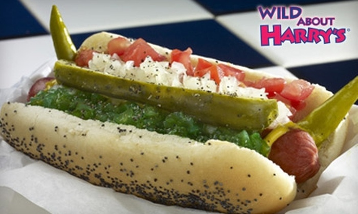 Wild About Harry's - Allandale: $5 for $10 Worth of Inventive Hot Dogs and Frozen Custard at Wild About Harry's