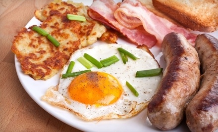 $20 Groupon to The Flying Biscuit Cafe - The Flying Biscuit Cafe in Raleigh