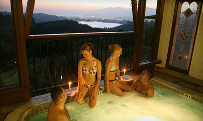 Puddingstone Hot Tubs Resort - San Dimas: Hot-Tub Experience for Two Sunday–Thursday or Friday–Saturday at Puddingstone Hot Tubs Resort in San Dimas (Up to 57% Off)