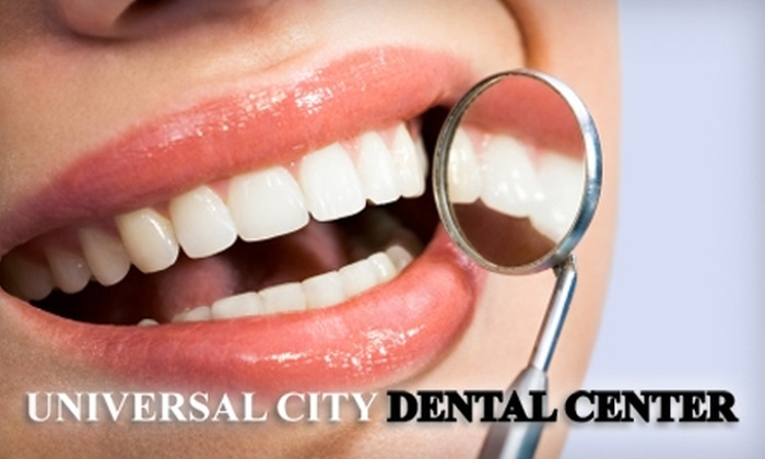 Universal City Dental Center - Studio City: $50 for an Exam, Cleaning, and X-Rays ($250 Value) or $79 for a One-Hour, In-Chair Rembrandt Whitening Treatment ($500 Value) at Universal City Dental Center