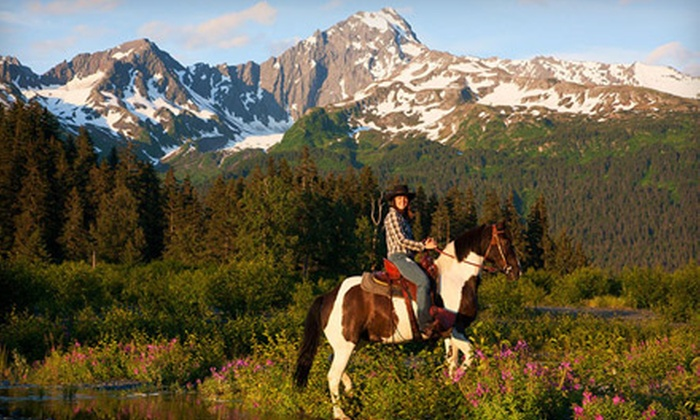 Bardy's Trail Rides - Bear Creek: $49 for Trail Ride from Bardy's Trail Rides in Seward ($97.85 Value)