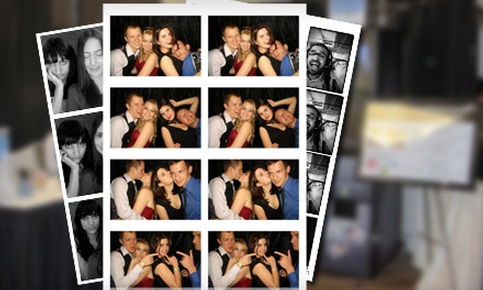 PartyPix - Eagle River Valley: $699 for a Photo-Booth-Rental Package with Unlimited Photos and Attendant from PartyPix ($1,400 Value)