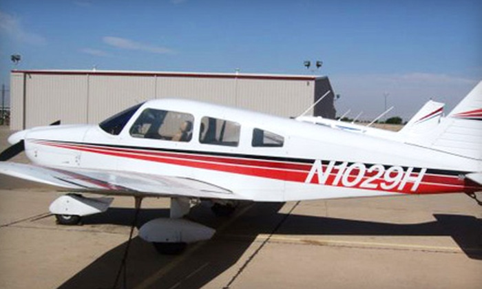 Anderson Aviation - Bulverde: 30-, 45-, or 60-Minute Flight Lesson at Anderson Aviation in Bulverde