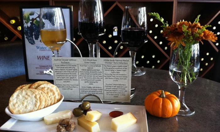 Water 2 Wine - Houston: $30 for a Wine-Education-Class Package for Two with Food Pairings, Wine Glasses and a Corkscrew from Water 2 Wine ($60.85 Value)