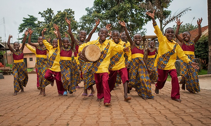 The African Children's Choir - Count Basie Theatre: The African Children's Choir at Count Basie Theatre on March 31 at 7 p.m. (Up to 80%Off)