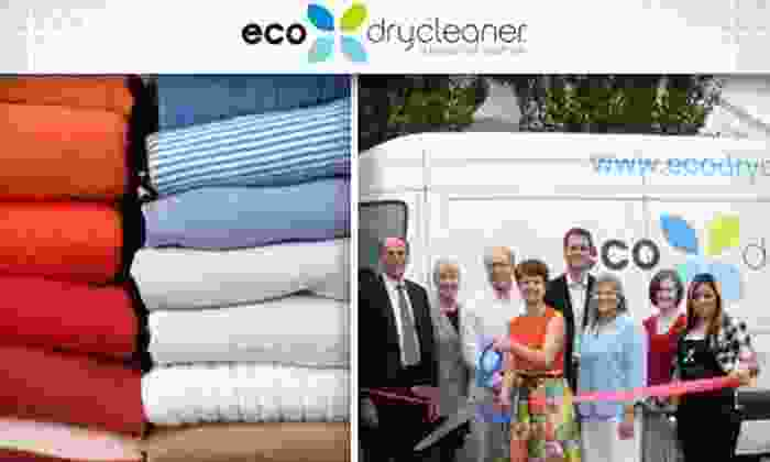 Eco Dry Cleaners - Multiple Locations: $12 for $25 Worth of Green Cleaning Services at ecodrycleaner