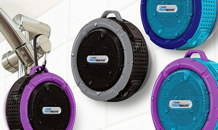Aduro AquaSound NDure Bluetooth Shower Speaker with Built-In Mic and Controls (Shipping Included)