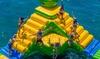Jeux ludiques dans un parc aquatique