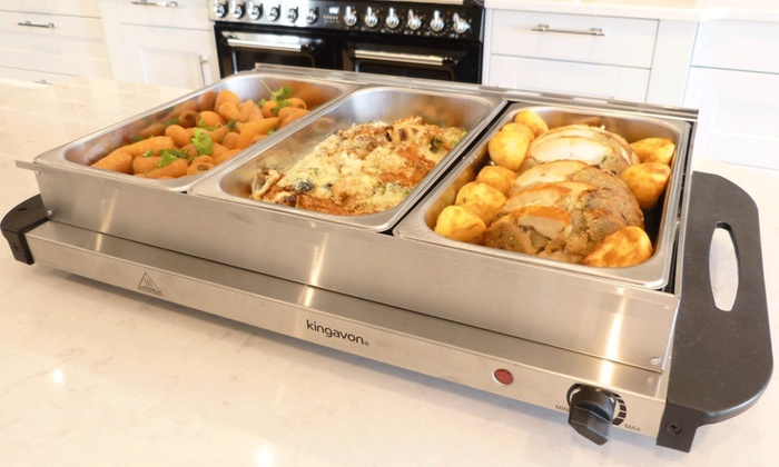 up to 37 off kingavon buffet warming tray groupon rh groupon ie buffet warming tray canada buffet warming trays for food
