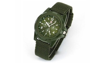 Mens Army-Style Swiss Watch