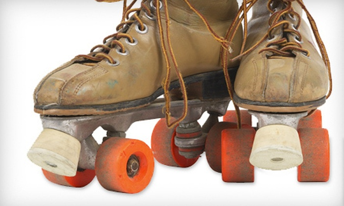 The New Rink - Multiple Locations: Roller Skating with Skate Rentals and Sodas for Two or Four (Up to 63% Off)