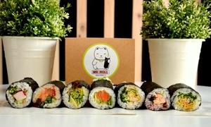 Mr Roll: 2 wybrane rolki Sushi Hand Roll za 19,99 zł i więcej opcji w Mr. Roll (do -33%)