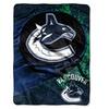 NHL Vancouver Canucks Micro Raschel Throw